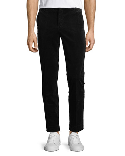 Men's Stretch-Corduroy Slim-Leg Pants
