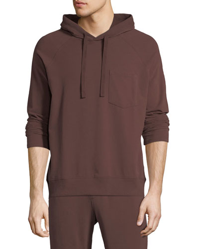 Men's Brushed Fleece Pullover Hoodie