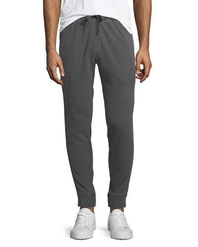 Men's Faded-Out Pique Sweatpants