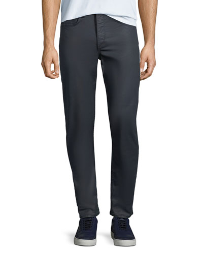 Men's Standard Issue Fit 1 Slim-Skinny Jeans, Coated Blue