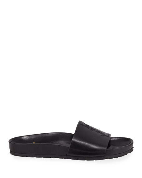 7ff93e4b5a6 Saint Laurent Men s Jimmy 20 YSL Slide Sandals