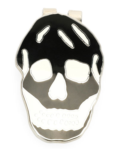 Men's Skull Money Clip