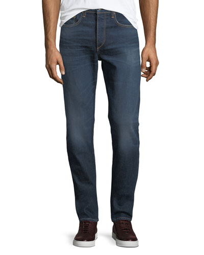 Men's Standard Issue Fit 2 Mid-Rise Relaxed Slim-Fit Jeans, Worn Ace