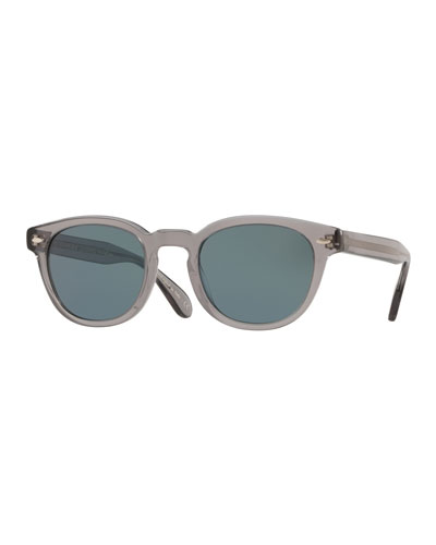 Men's Sheldrake Round Photochromic Sunglasses - Workman Gray