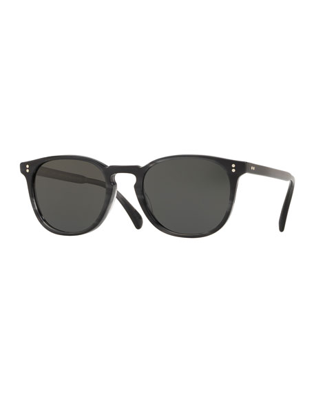 66bb6b2dbb Oliver Peoples Men s Sheldrake Round Photochromic Sunglasses ...