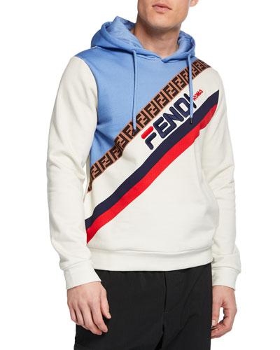 Men's Fendi Mania Pullover Hoodie