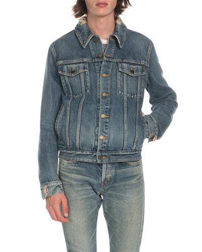 4844f986a7044 Saint Laurent Jackets, Shirts & Sweatshirts at Bergdorf Goodman
