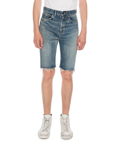 Men's Miami Spray Jean Shorts