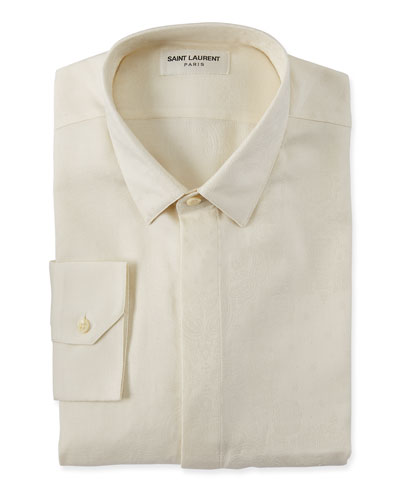 Men's Brocade Dress Shirt