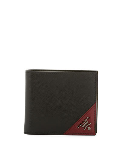 Men's Saffiano Leather Wallet