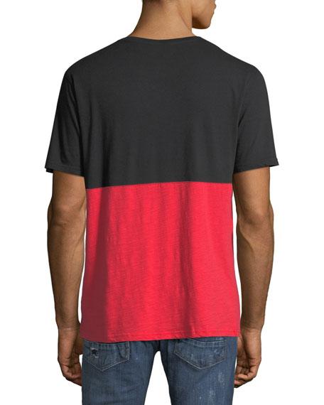 Men's Two-Tone Logo Graphic T-Shirt