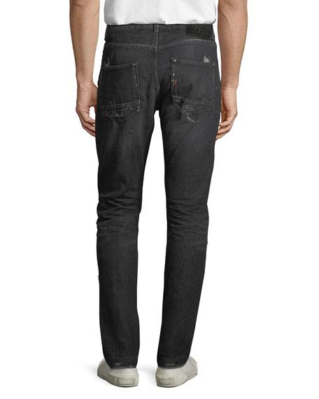 Men's Japan Lesabre Patch Denim Jeans