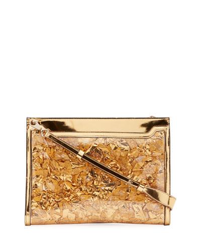 Men's Skypouch Rubans Golden Pouch Bag