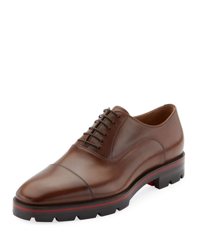 Men's Hubertus Leather Lace-Up Shoes
