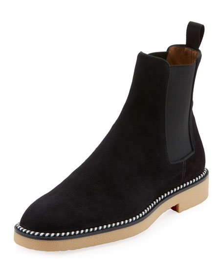e9c249d502a Men's Chelsea Crepe-Sole Suede Boots