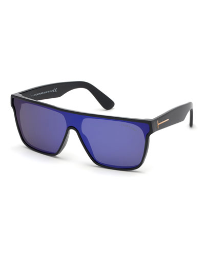 Men's Wyhat Square Shield Sunglasses