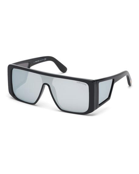 TOM FORD Men's Atticus Shield Sunglasses