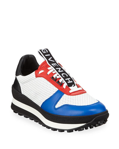 Men's TR3 Low-Top Leather Running Sneakers