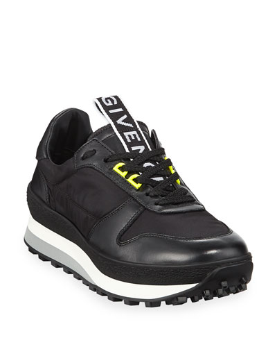 Men's TR3 Leather Running Sneakers