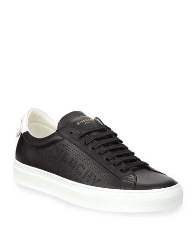 Men's Urban Street Leather Low-Top Sneakers