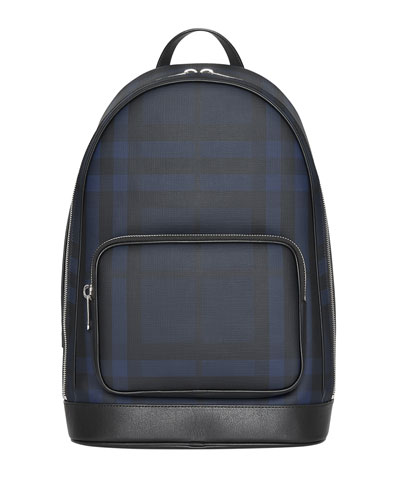 Men's Rocco Check Backpack