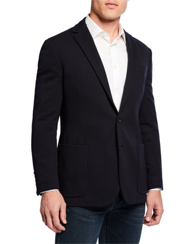 Men's Had Solid Sport Coat