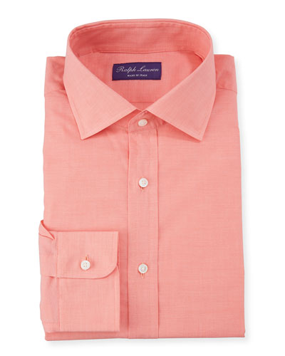 Men's Coral Aston Dress Shirt