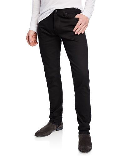 Men's Tapered Stretch-Denim Jeans