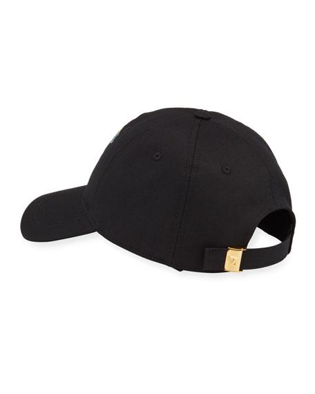 2af397919 Men's Medusa Head Embroidery Baseball Hat