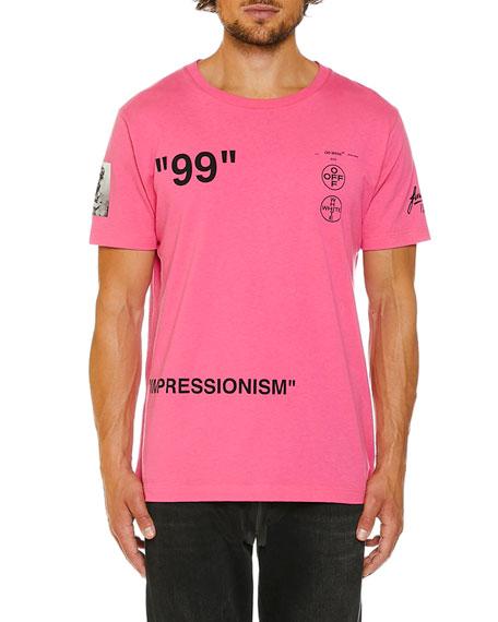 off white men\u0027s impressionist boat slim t shirt  Neue Under Armour Wei Tshirt Herren Online P 524 #1