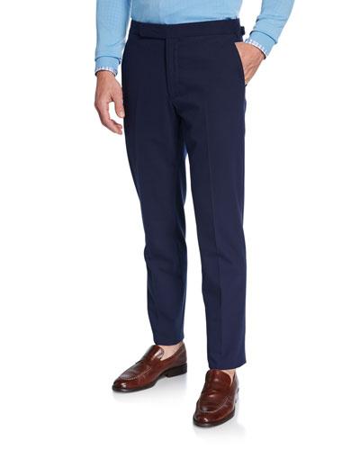 Men's RLX Gregory Flat-Front Pants Navy