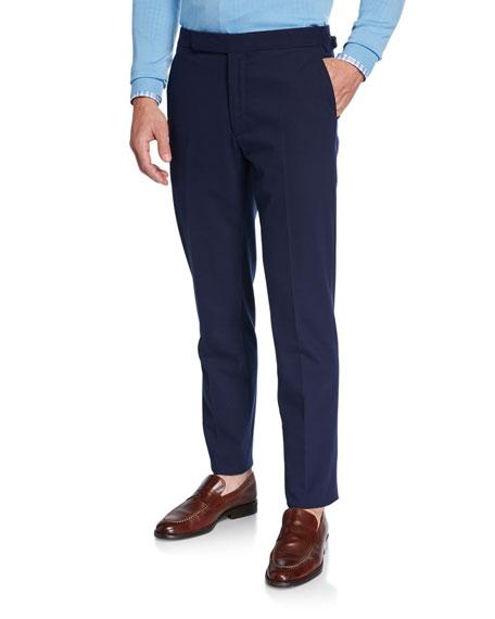 Ralph Lauren Pants MEN'S RLX GREGORY FLAT-FRONT PANTS, NAVY