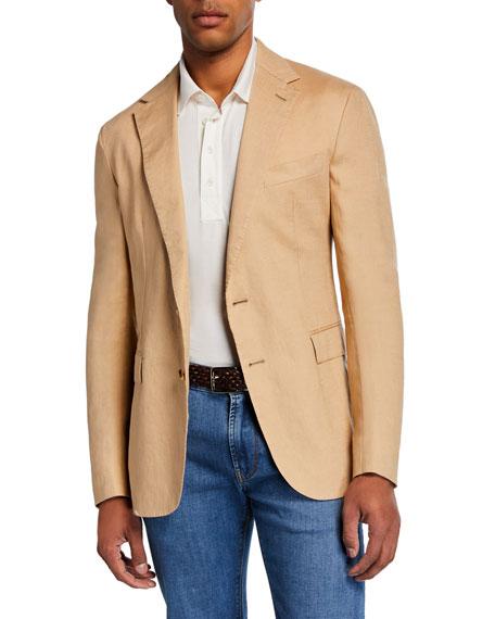 Ralph Lauren Men's Hadley 2-Button Linen Jacket