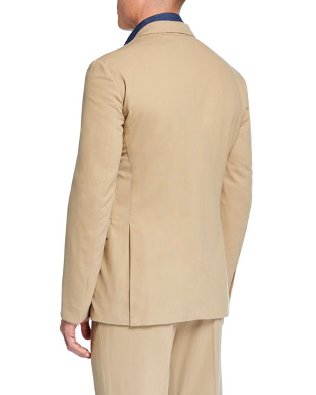 Men's RLX Hadley 2-Button Jacket, Tan