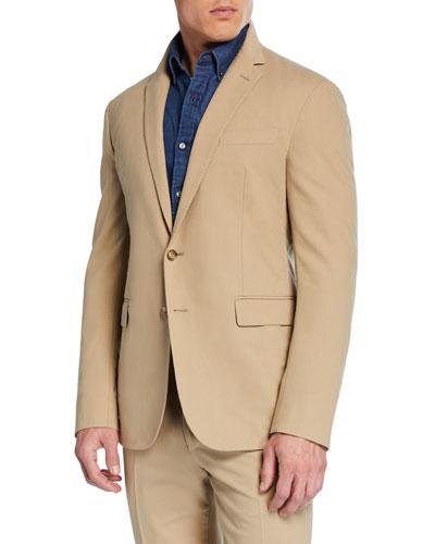 Men's RLX Hadley 2-Button Jacket  Tan