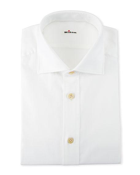 Men's Cotton Oxford Dress Shirt