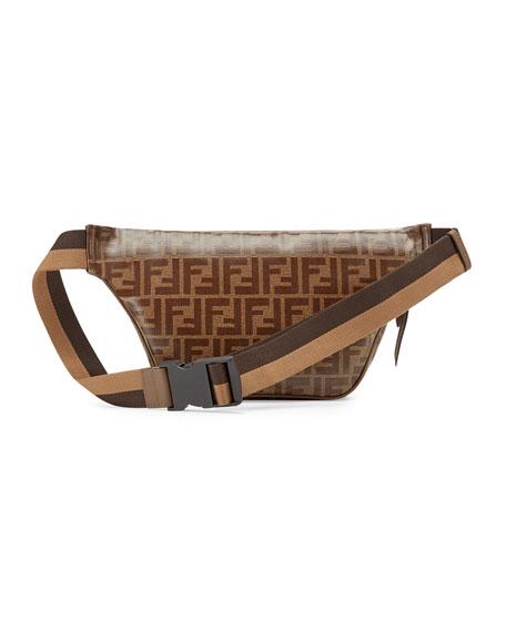 5ebe9e8a61edc Men's Fendi Mania Coated Canvas Belt Bag/Fanny Pack