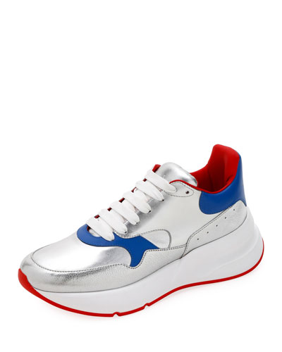 Men's Runner Sneaker in Lamb Leather