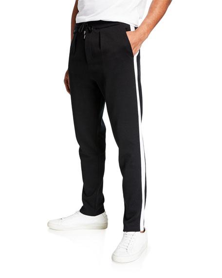 Ralph Lauren Pants MEN'S SPA PANTS WITH CONTRAST SIDE STRIPES