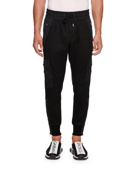 Dolce & Gabbana Cottons MEN'S CARGO PANTS