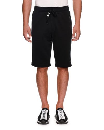 Men's Logo Drawstring Sweat Shorts