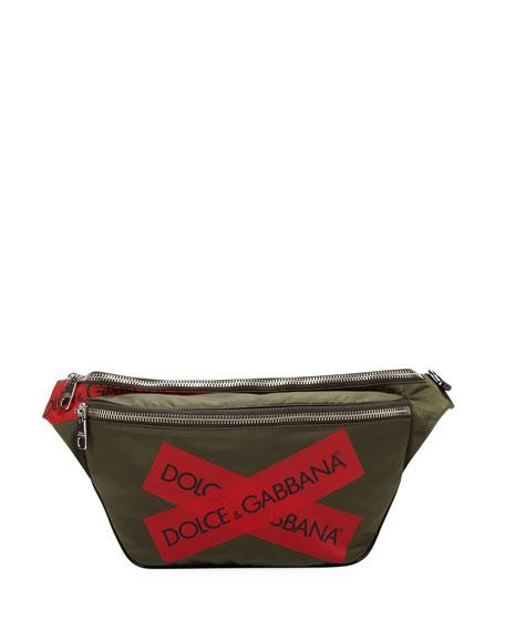 Dolce & Gabbana Men's Logo Fanny Pack