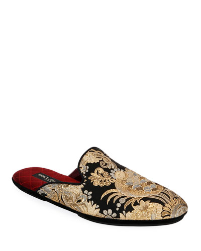 Men's Da Camera Jacquard Slippers