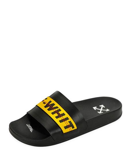 Off-White Men's Pool Slide Sandals