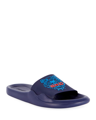 Men's Logo EVA Pool Slide Sandals