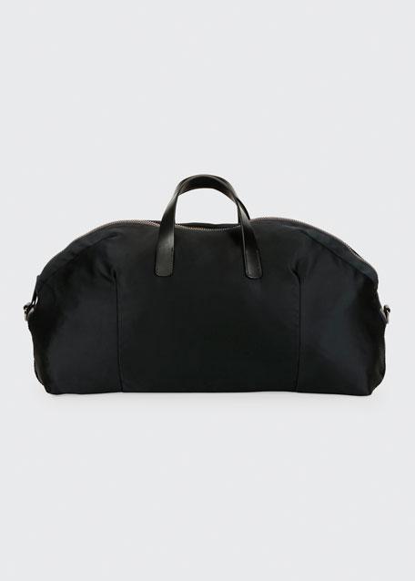 c3b3935a61 Men's Nylon Carryall Duffel Bag Black
