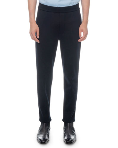 Men's Solid-Knit Jogger Pants