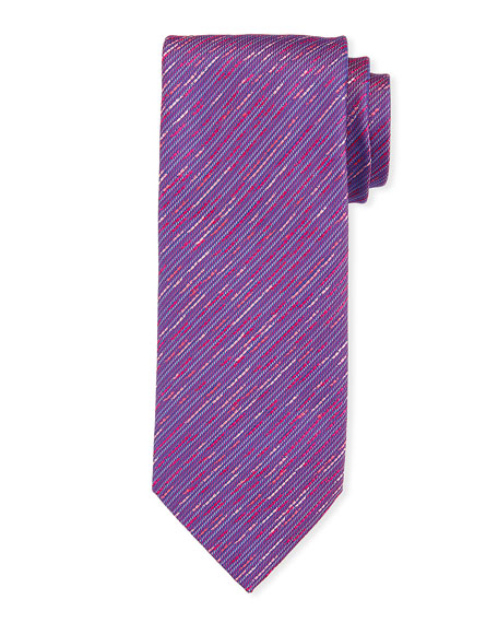 Charvet Contrast Thread Silk Tie