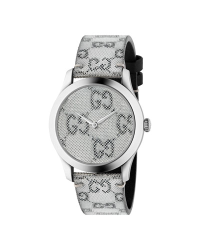 Men's GG Floating Dial Watch