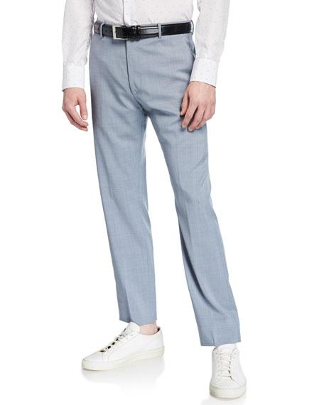 Zanella Pants MEN'S TROPICAL WOOL CROP PANTS